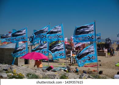 Gruissan, Aude/France June 1st 2019 Defi Wind competition preparations