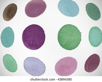 grunge abstract paint background circles
