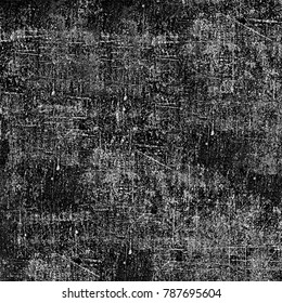 Grunge background of black and white. Abstract monochrome texture
