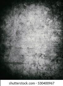 Grunge background, Black and white grunge texture