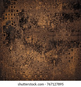 Grunge background of brown color