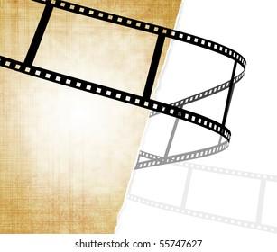 Grunge background - filmstrip