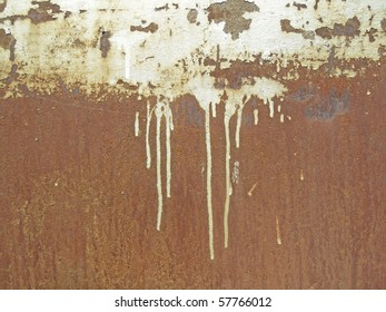 Grunge background of metal