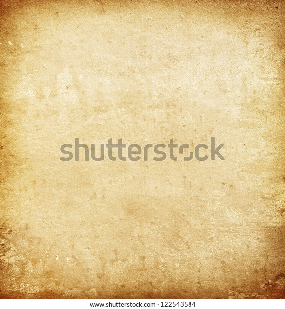 Grunge Background Old Paper Texture Stock Photo (Edit Now) 122543584