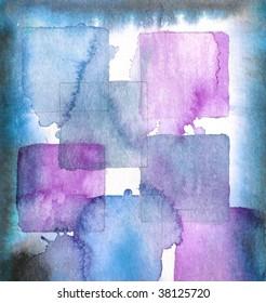 grunge background paint squares