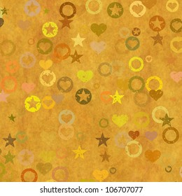 grunge background with pattern