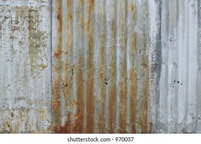 grunge background of rusted metal