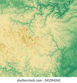 Grunge background or texture for your design. With different color patterns: green; brown; yellow (beige)