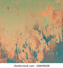 Grunge background or texture for your design. With different color patterns: brown; blue; red (orange); green; gray