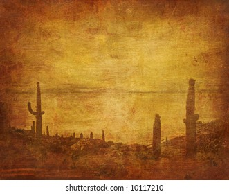 old western background
