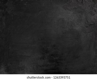 Grunge black background or texture with space