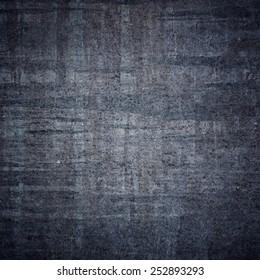 Grunge black wall. Vintage texture.