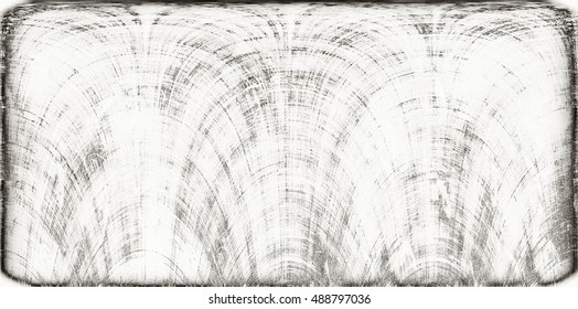 Grunge black and white scratch distress texture. Modern futuristic painted wall for backdrop or wallpaper with copy space. Close up image