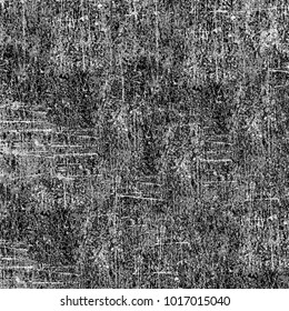 Grunge black white. Texture of cracks, dust, stains. Abstract monochrome background. Pattern fantastic for printing and design