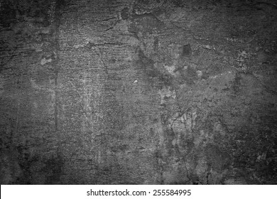Grunge black and white wall