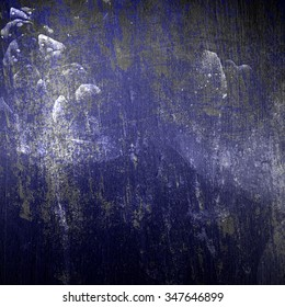 grunge blue background wall