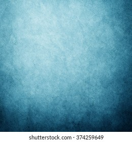 Grunge blue paper background or texture, Old Paper use as background and space for text, Vintage background.