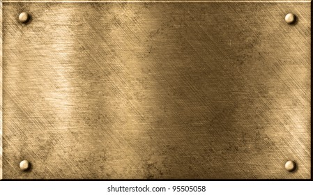 grunge bronze or brass metal background