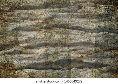 grunge  brown and blue  crack wall texture  vintage coloor style background