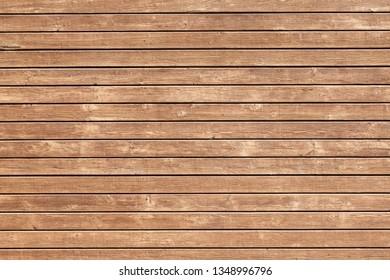 Grunge brown desks. Natural weathered wood texture background.