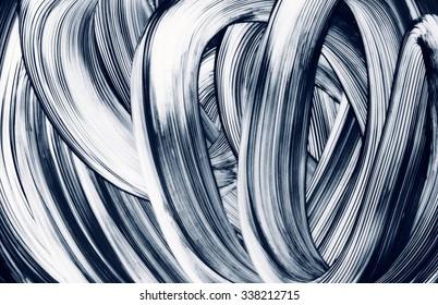 grunge brush strokes hand painted background Paintbrush strokes