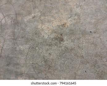 Grunge cement crack floor texture background