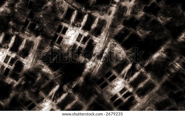 Grunge Cityscape 2