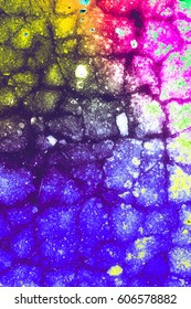 Grunge color abstract background
