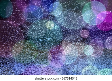 grunge color spread background with bokeh light glitter