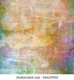 Grunge colorful background. Beautiful texture of paper. Universal design.