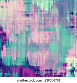 Grunge colorful background or old texture for creative design work. With different color patterns: purple (violet); green; blue