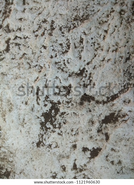 The Grunge of the Concrete surface. The Depiction of weather system and himalayan ranges seen from the satellite. Abstract background of Black and White color.