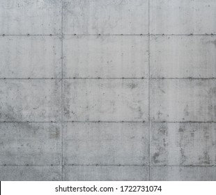 Grunge concrete wall separated into multiple blocks