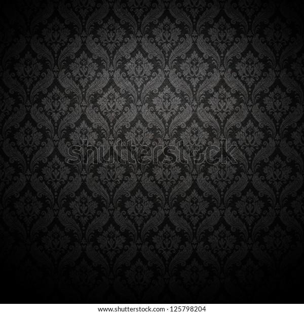 Grunge Dark Wallpaper Stock Photo Edit Now 125798204