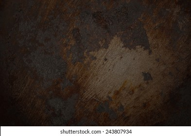 grunge dirty metal background or texture
