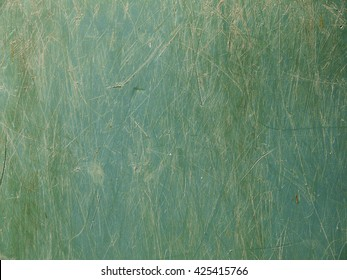 Grunge and dirty stain on the green plastic texture
