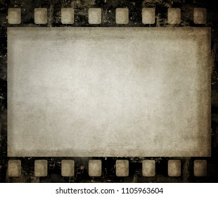 Grunge film background. Nice vintage texture with space for text or image.