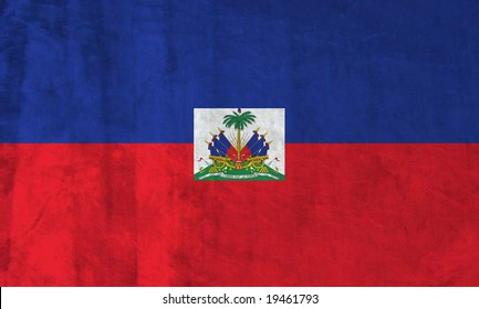 Grunge Flag of Haiti