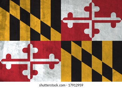 Grunge Flag of Maryland