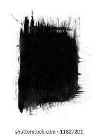 Grunge Frame (High-Resolution Scan)
