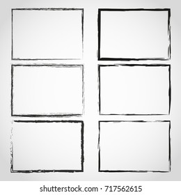 Grunge frame.Grunge background.Abstract template.