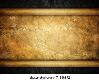 grunge golden background