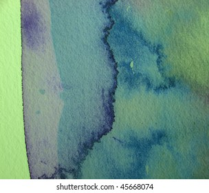 grunge green         abstract watercolor background