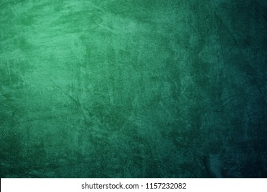 grunge  green concrete wall abstract  Background