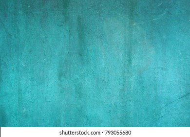 Grunge green iron texture background,Metal background with scratches.
