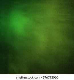 Grunge green smooth gradient background
