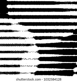 Grunge halftone black and white line texture background. Abstract stripe illustration Texture