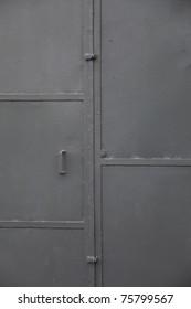 grunge industry metal door background