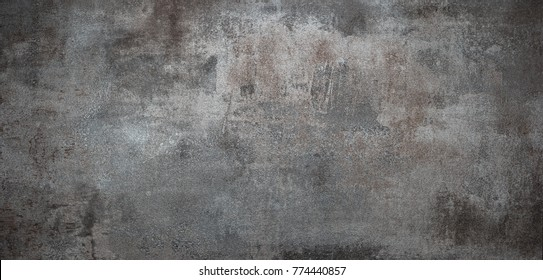 Grunge metal background or texture with scratches and cracks