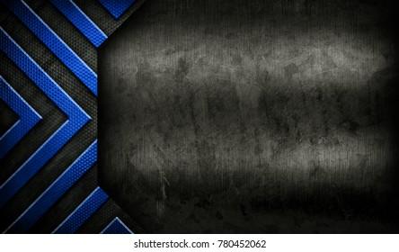 grunge metal design background